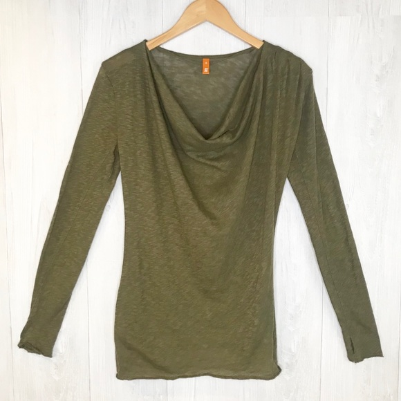cfb64b2519 Lucy Tops | Long Sleeve Cowl Neck Top Sz Xs | Poshmark